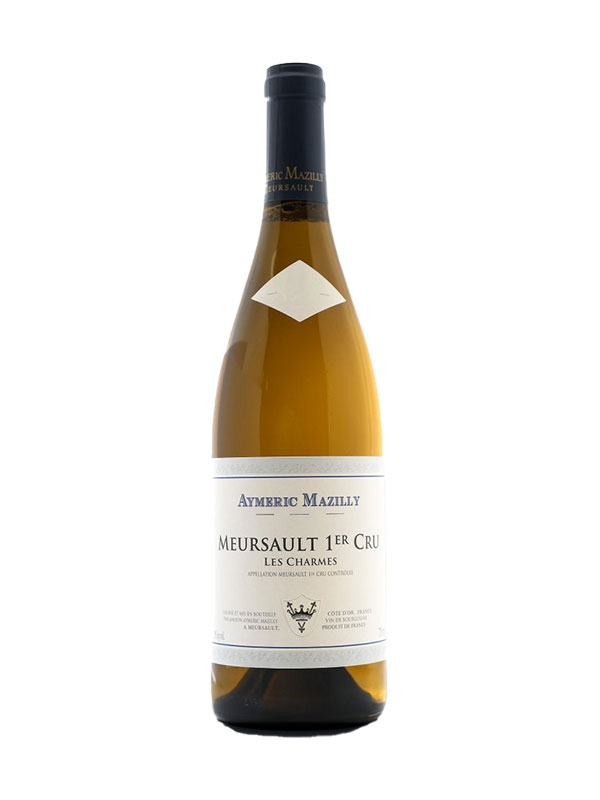 Meursault 1er Cru Les Charmes Mazilly 2015 Burgundy France