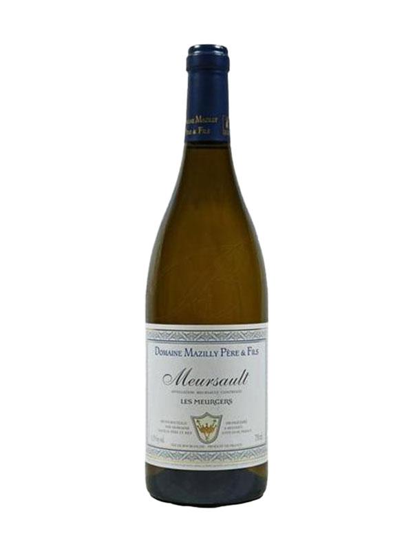 """Meursault """"Les Meurgers"""" Blanc Mazilly 2018 Burgundy France"""