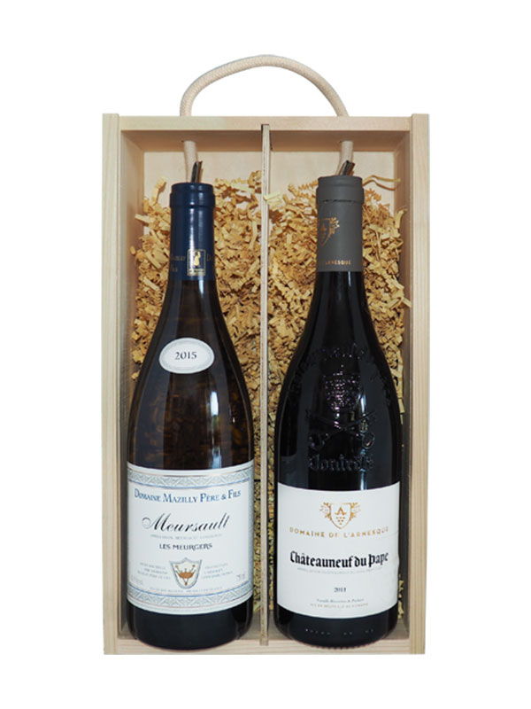 French Classics: Chateauneuff du Pape & Meursault (Gift Boxed)