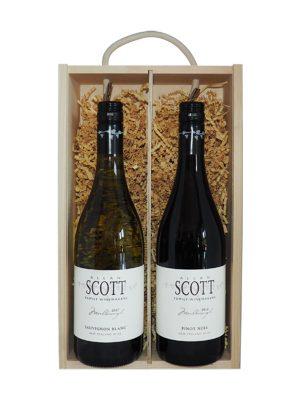 Allan Scott Sauvignon Blanc & Pinot Noir (Gift Boxed)