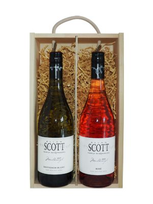 Allan Scott Sauvignon Blanc & Pinot Noir Rose (Gift Boxed)