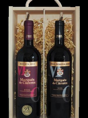 Marques de Caceres Reserva and Gran Reserva (Gift Boxed)-0