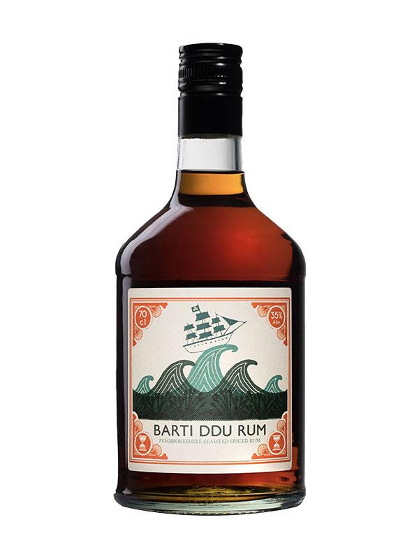 Barti Ddu Pembrokeshire Seaweed Spiced Rum 70cl