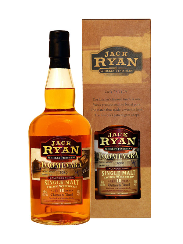 Jack Ryan – Toomevara – 10 Year Old finished in Château du Breuil Calvado, Dublin, Ireland 70cl