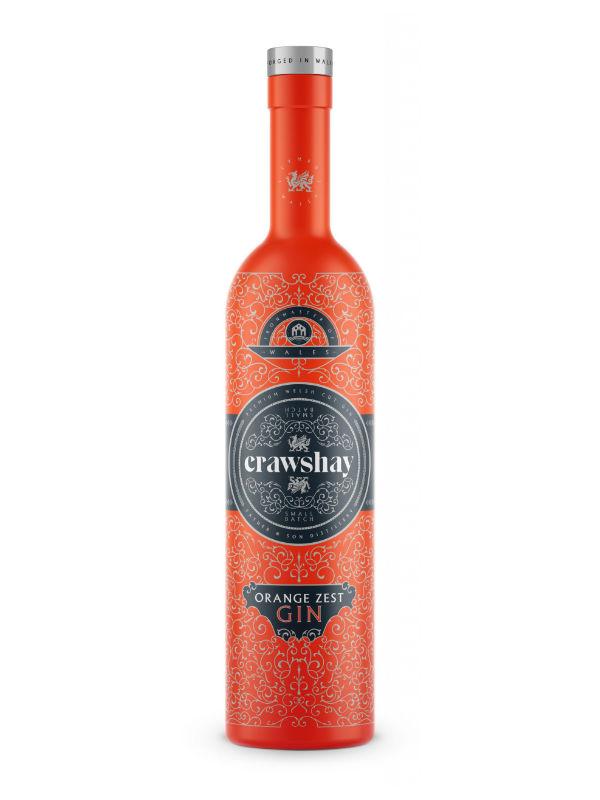 Crawshay Orange Zest 70cl Gin