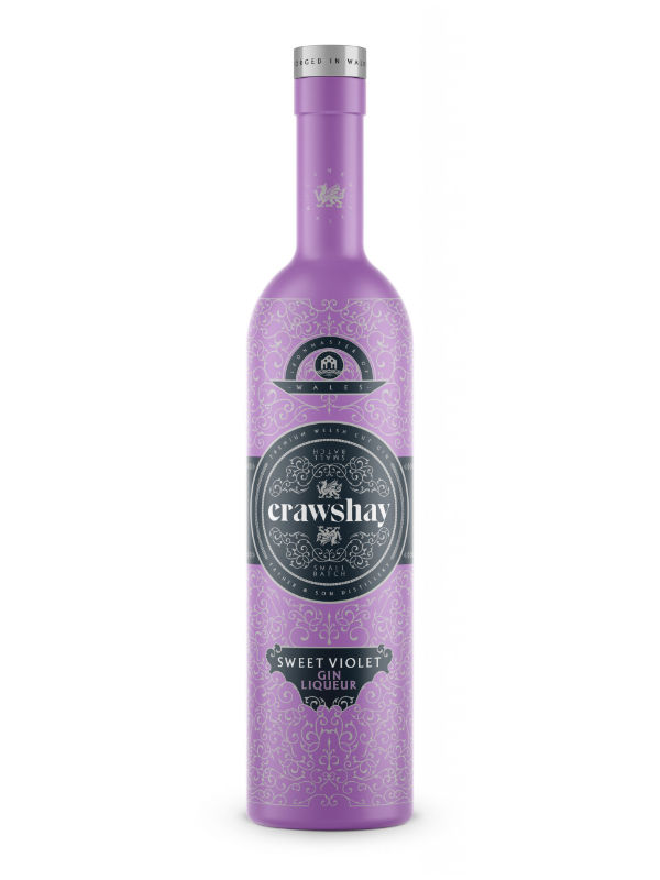 Crawshay Sweet Violet 50cl Gin Liqueur