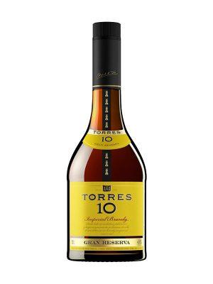 Torres 10 Gran Reserva Imperial Brandy, Penedes, Spain