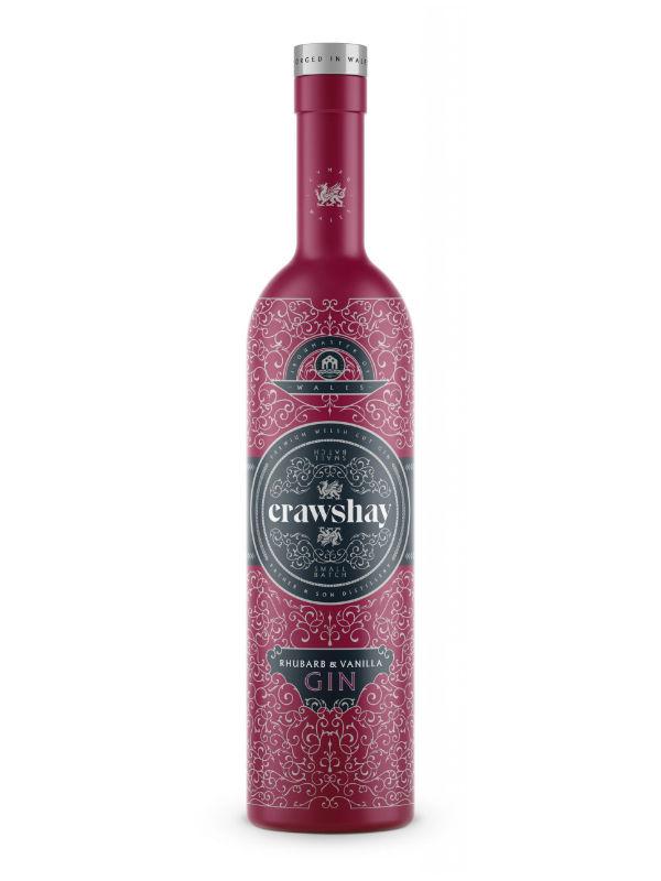 Crawshay Rhubarb & Vanilla Gin 70cl