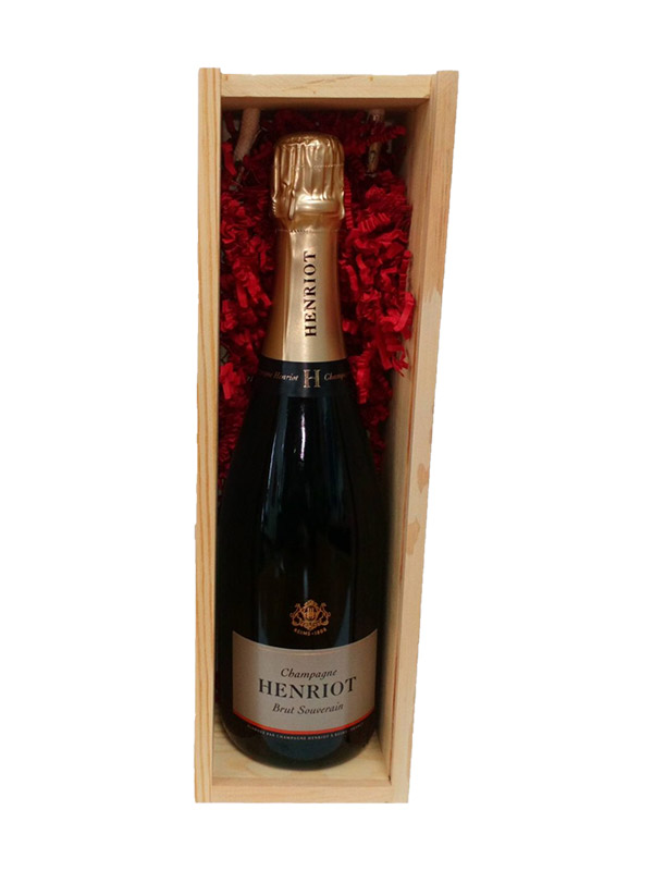 Henriot Brut Souverain Champagne (Gift Boxed)