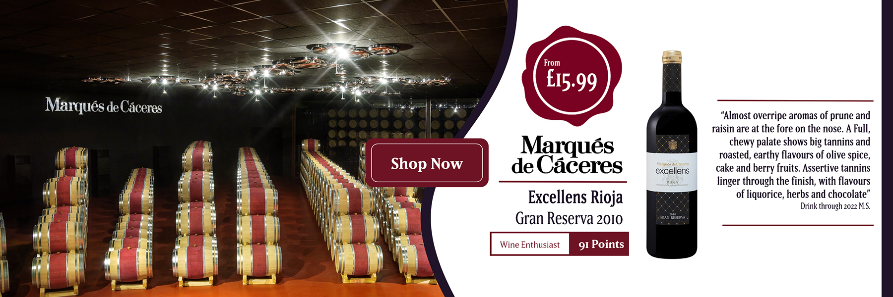 Marques de Caceres offer