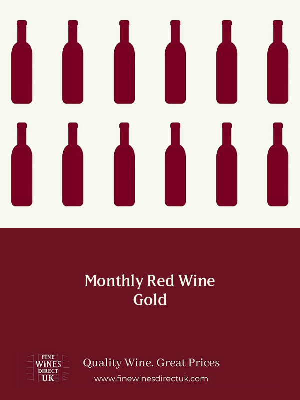 Monthly Red Wine - Gold