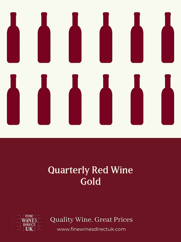 Quarterly Red Wine - Gold