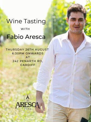 Fabio Aresca Wine Tasting