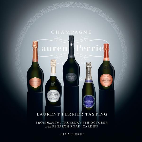 Laurent Perrier Tasting
