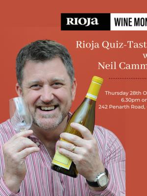 Neil Cammies Rioja Wine Month